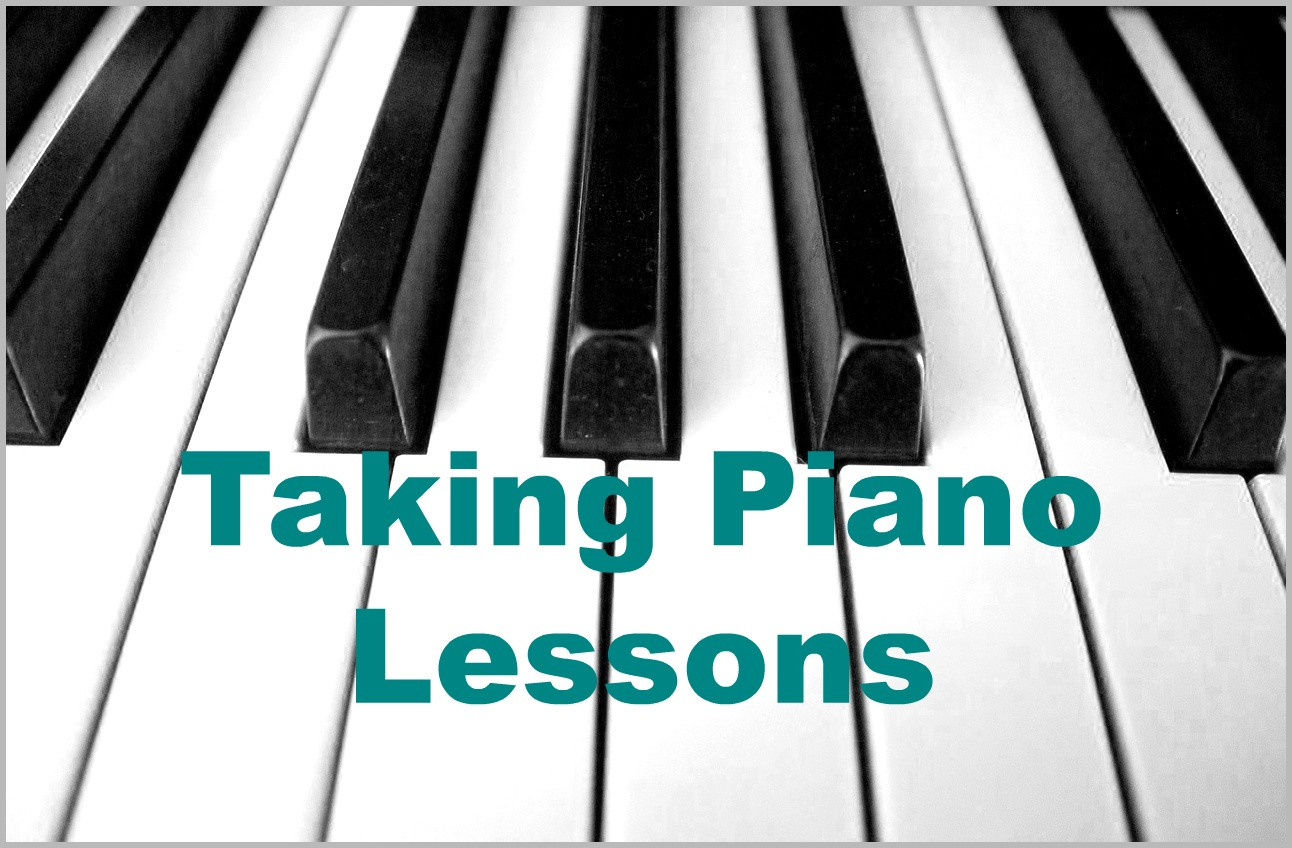 Taking Piano Lessons