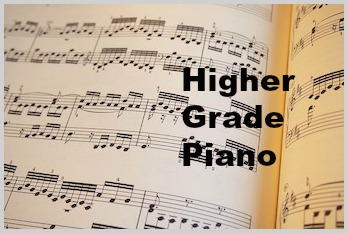 Higher Grade Piano Lessons